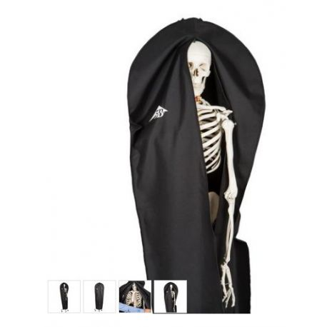Funda negra protectora polvo 1020761. Adecuada modelos esqueletos