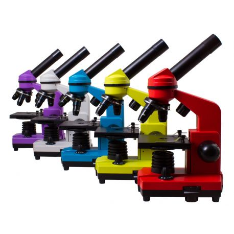 Microscopio Levenhuk 2L con kit experimentos. Monocular 64x-640x