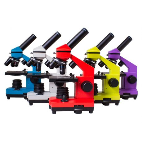 Microscopio Levenhuk 2L-PLUS con kit experimentos. Monocular 64-640x