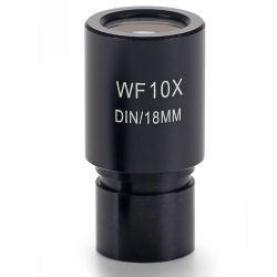 Ocular microscopio Microblue MB-6010. Gran campo WF10x/18 mm