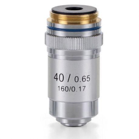 Objectiu microscopi Microblue MB-7040. Acromàtic 40x/0.65-R