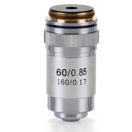 Objetivo microscopio Microblue MB-7060. Acromático 60x/0.85-R