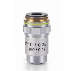 Objectiu microscopi Bioblue AE-5593. Semiplanoacromàtic 10x/0.25