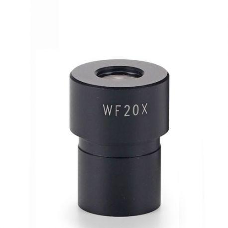Ocular microscopio Microblue MB-6020. Gran campo WF20x/9 mm