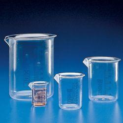 Vaso precipitados plástico PMP graduado. Capacidad 500 ml