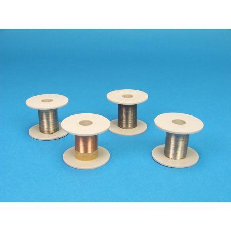 Hilo de cobre 0'4 mm V-15734. Carrete 50 metros