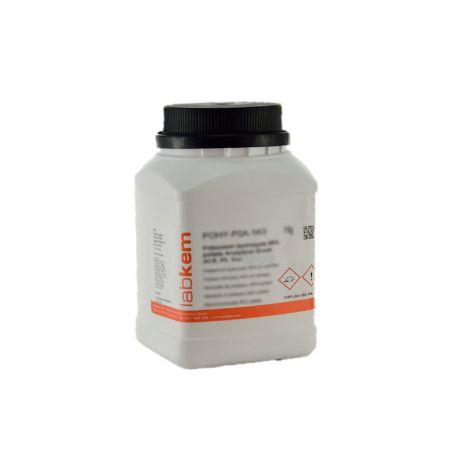 Sodio acetato anhidro SOAC-A0P. Frasco 500 g