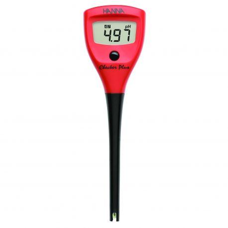 pH-metro bolsillo Hanna Checker Plus HI-98100.  Rango pH 0'01