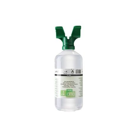Solució rentaülls salina clorur de sodi 0'9% Plum P-4800. Flascó 2 ulls 1000 ml