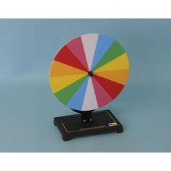 Disco Newton cromático QLG-001. Manual con manivela