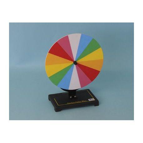 Disc Newton cromàtic QLG-001. Manual amb manovella