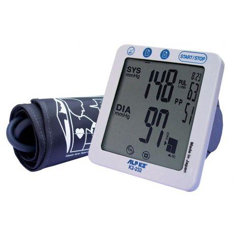 Tensiómetro digital de brazo Alp K2-232. Automático 12 dígitos