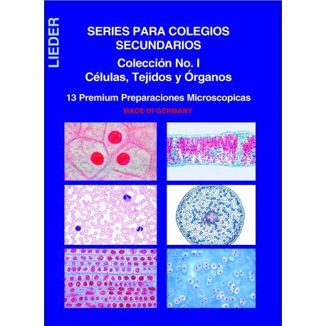 Preparaciones microscópicas L-4410-13. Células-Tejidos-Órganos