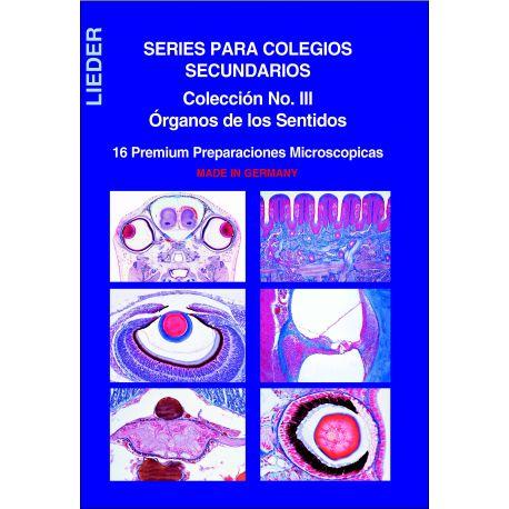 Preparaciones microscópicas L-4450-16. Órganos de los sentidos