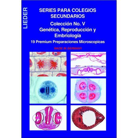 Preparaciones microscópicas L-4480-19. Genética-Reproducción
