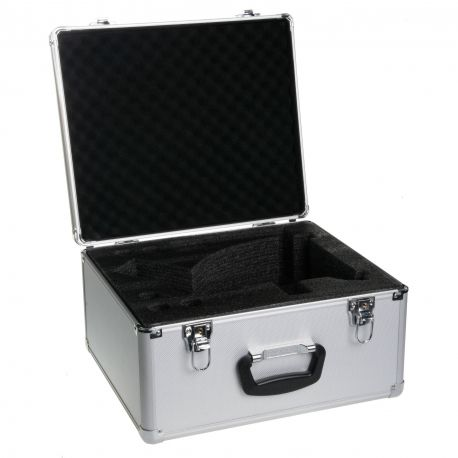 Maletín microscopios Microblue MB-9900. Aluminio 410x285x200 mm