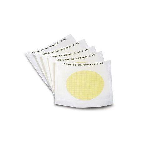 Filtros membrana nitrato celulosa 0'45um 47mm BQE 11406-047ACN. Caja 100 unidades