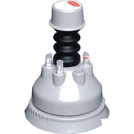 Dispensador discs antibiogrames 90 mm ST-6090. Capacitat 6 tubs