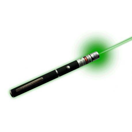 Física V-14431. Puntero láser verde 532 nm. Potencia 5 mW