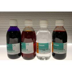 Violeta cristall solució Gram-Hücker QCA-8710. Flascó 250 ml