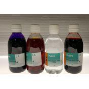 Azul de metileno solución Ziehl-Neelsen QCA-4203. Frasco 250 ml