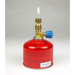 Bec gas CFH BL-1700 acoblable cartutxos amb vàlvula. Gas butà