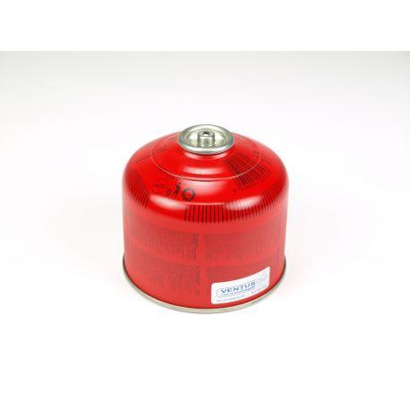 Cartutx gas butà de llençar amb vàlvula UN-2037. Càrrega 230 g