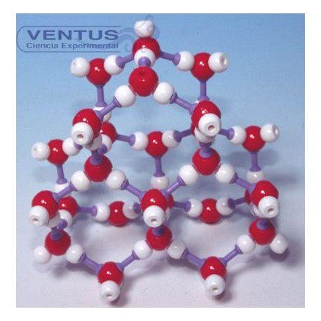 Modelo cristalográfico MKO-123-26. Gel, 26 átomos
