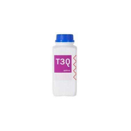 Potasio hidróxido lentejas P-1300. Frasco 1000 g
