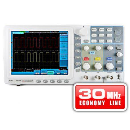 Osciloscopio digital Promax OD-603. Ancho banda 30 MHz