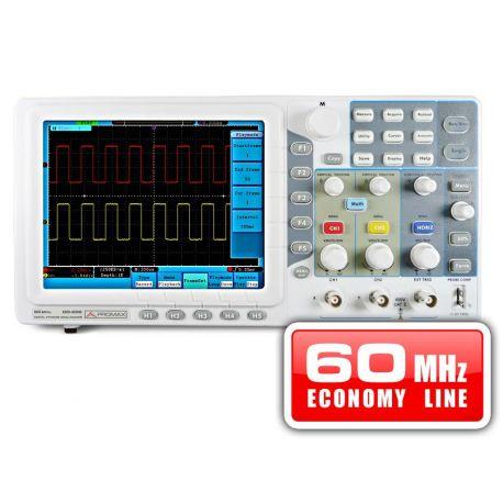 Osciloscopio digital Promax OD-606. Ancho banda 60 MHz