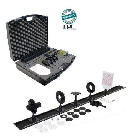 Banco óptica Initial DO-106009. Lentes plástico PMMA 40 mm
