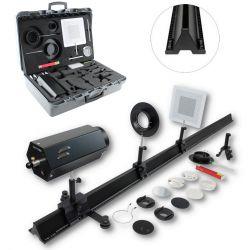 Banco óptica Premium DO-106041. Lentes vidrio simples 80 mm