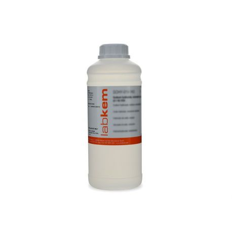Sodio hipoclorito (Lejía) solución 10% p/v HYPO-10P. Frasco 1000 ml