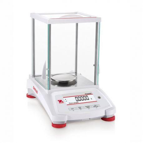 Balanza analítica Pioneer PX-124-EX. Capacidad 120 gramos en 0,0001 g