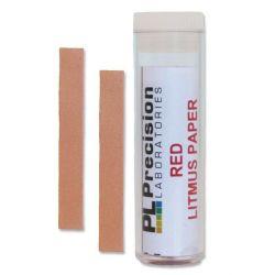 Tiras indicadoras papel tornasol rojo (pH básico). Caja 200 tiras