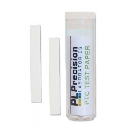 Tiras reactivas papel n-feniltiourea (PTC) P-165. Tubo 100 unidades