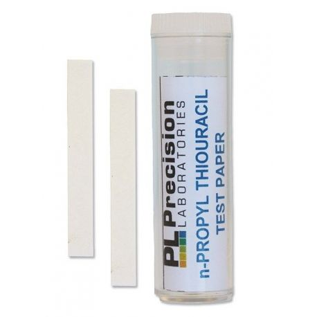 Tiras reactivas papel n-propiltiuracilo (PROP) P-125. Tubo 100 unidades