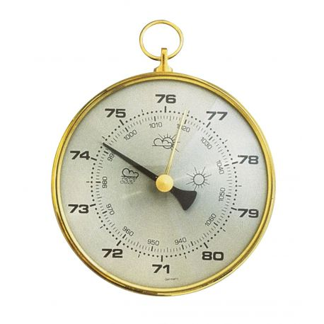 Barómetro aneroide simple TFA-4003. Básico sin base 100 mm