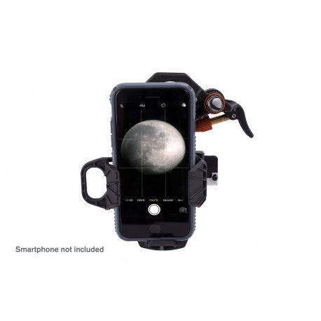 Adaptador smartphone Celestron NexYZ 3. Universal tres ejes