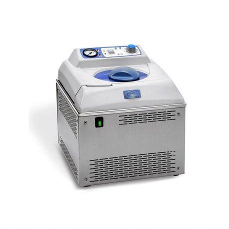 Autoclave vertical purgador manual Micro-8. Capacidad 8 litros