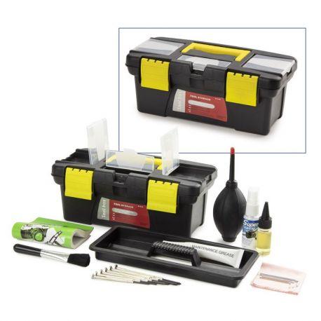 Equipo limpieza y mantenimiento microscopios PB-5276. Contenido 16 artículos