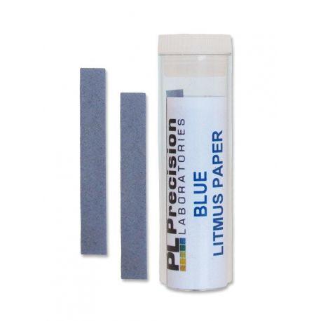 Papers reactius indicadors tornassol blau (pH àcid). Capsa 200 tires