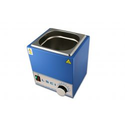 Bany termostàtic aigua LSCI TBN-02-100. Analògic metàl·lic 2 litres
