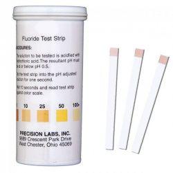 Tires reactives fluorur 0-10-25-50-100 ppm FLU. Tub 50 unitats