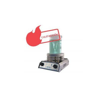 Agitador magnético con calefacción LSCI ACS-160. Analógico -12 litros