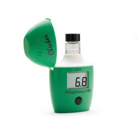 Minifotómetro digital Hanna Hl-706. Fósforo rango alto 0'0 ... 15'0 ppm