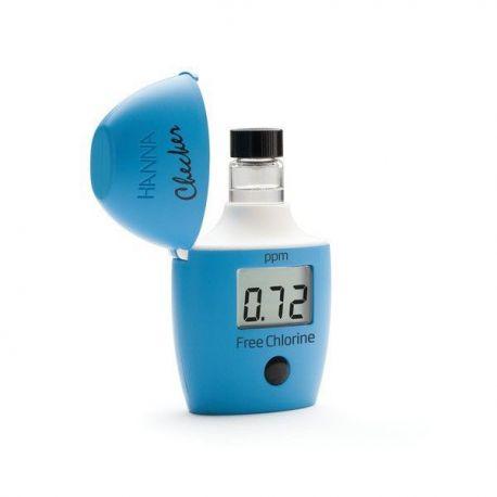 Minifotómetro digital Hanna HI-701. Cloro libre 0'00 ... 2'50 ppm