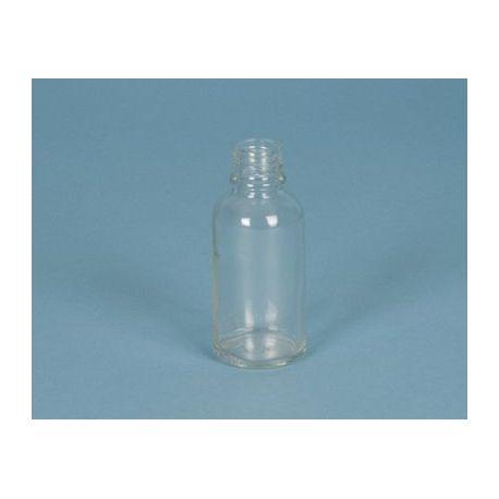 Flascó vidre incolor amb tap rosca D-28. Capacitat 60 ml