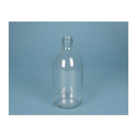 Flascó vidre incolor amb tap rosca D-28. Capacitat 125 ml